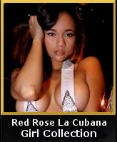 Red Rose La Cubana of Girl Collection Vegas